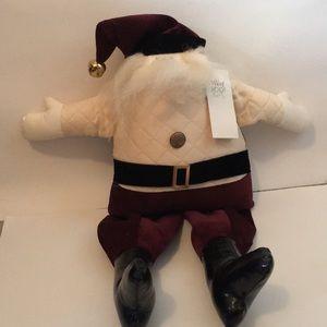 Santa accent pillow